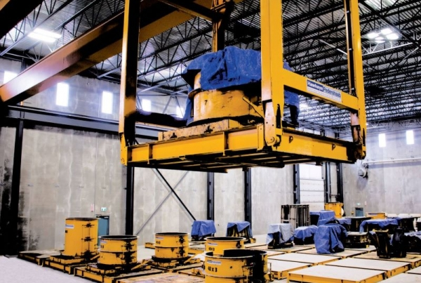 Prima wetcast automation system