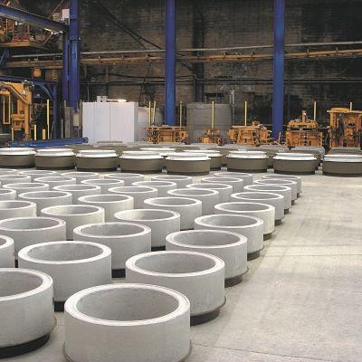 Mastercast high output of manhole bases