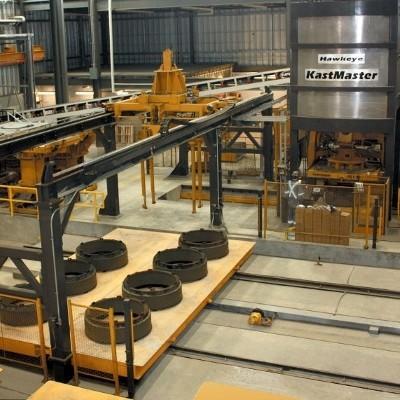Kastnaster Moving floor