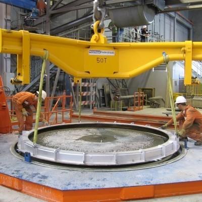 Multicast large diameter produciton