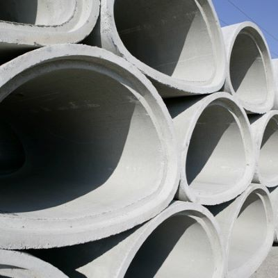 Arch concrete pipe produced by PipePlus machine