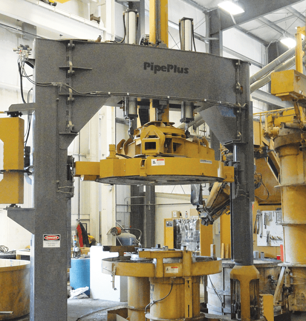 PipePlus Concrete Pipe Machine by HawkeyePedershaab