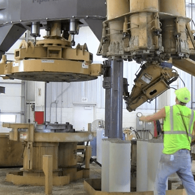 PipePlus concrete pipe machine simple operation