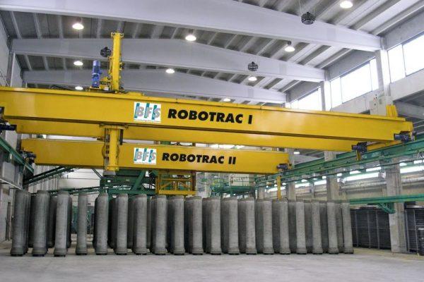 BFS Souveraen Robotrac floor system