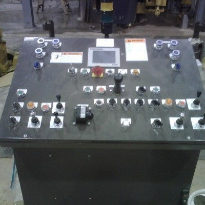 VUP control console