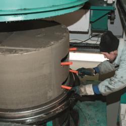 BFS Atlantic manhole stair insertion
