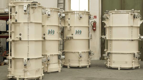 BFS concrete pipe moulds