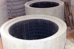 Concrete Pipe Mold Lined