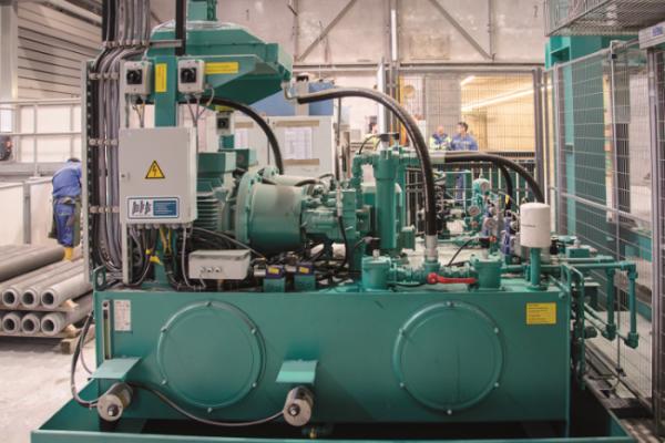 BFS Atlantic hydraulic valve