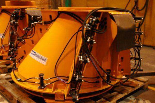 HawkeyePedershaab cone mold equipment