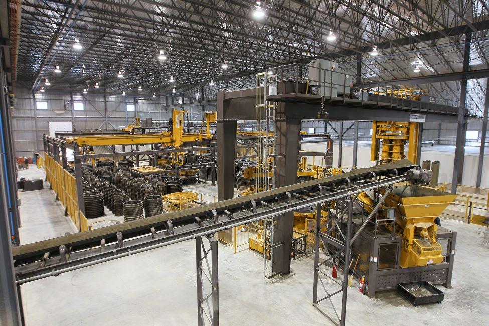 automated concrete plant