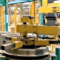 BFS Ringblitz base pallet inserter robot