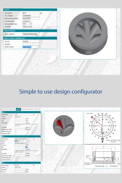 Capitan design configurator