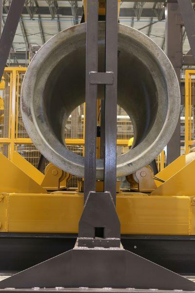 D-Load Tester Elliptical pipe