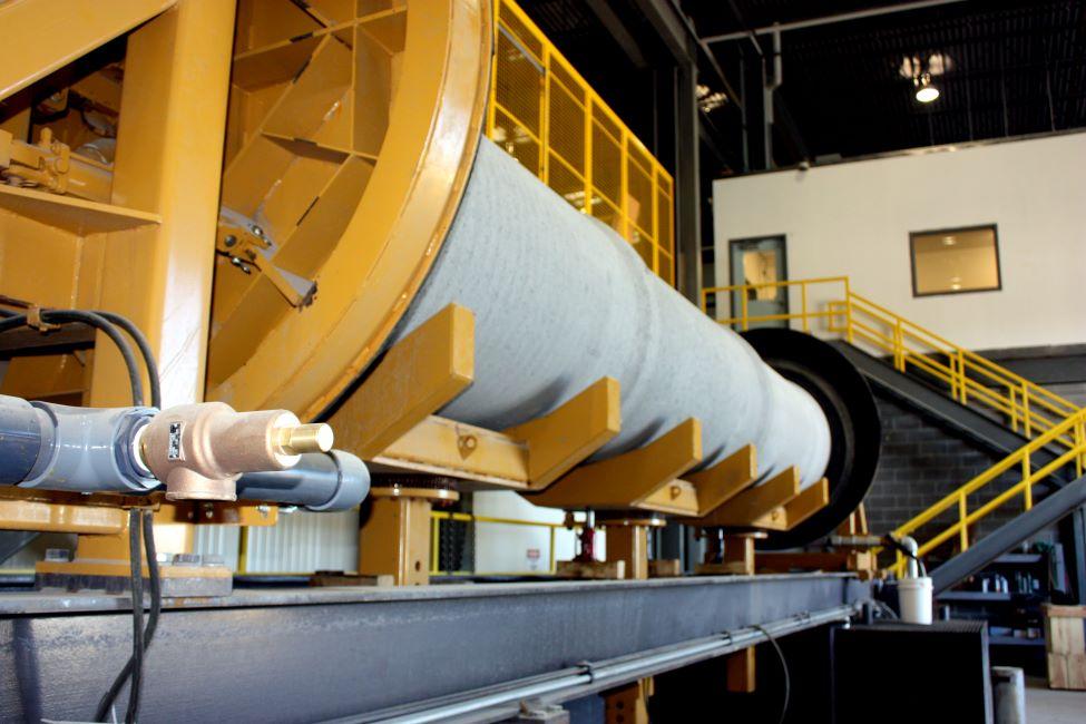 concrete pipe hydrostatic testing