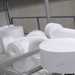 Manhole eps core top ready to be cast