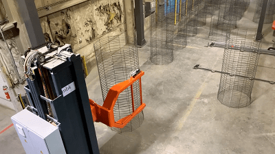 mbk cage handling automation