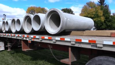 Pipemaster Wide Unloading range