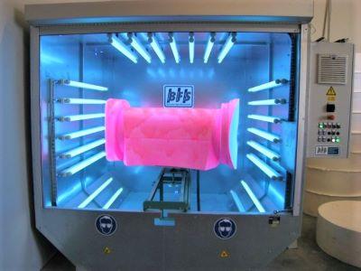 Casacap coating UV curing