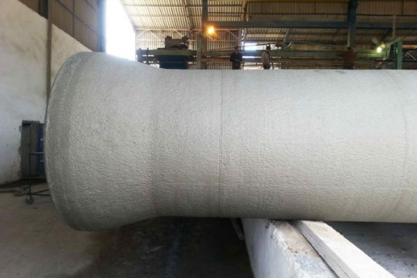 finished concrete spun pipe_1