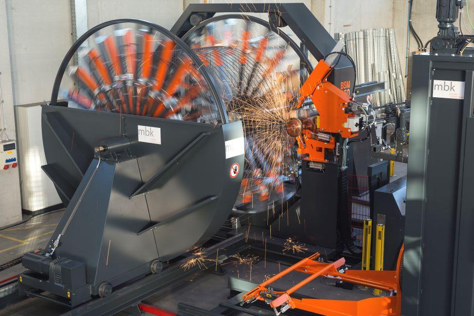 mbk cage welding machine