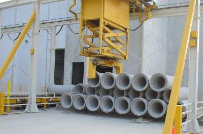 Pipe sorting machinery