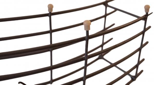 HawkeyePedershaab Plas-tips plast end tips for steel reinforcement