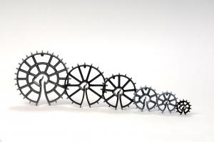 Plaswheel plastic spacers