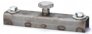 Spillman 1-ton button magnet
