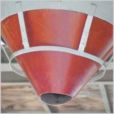 Hawliflex cone flex concrete funnel