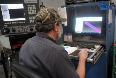 Equipment supply laser cutter operator