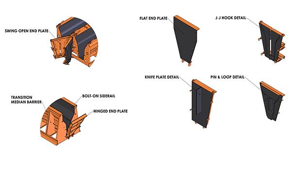 median barrier form details