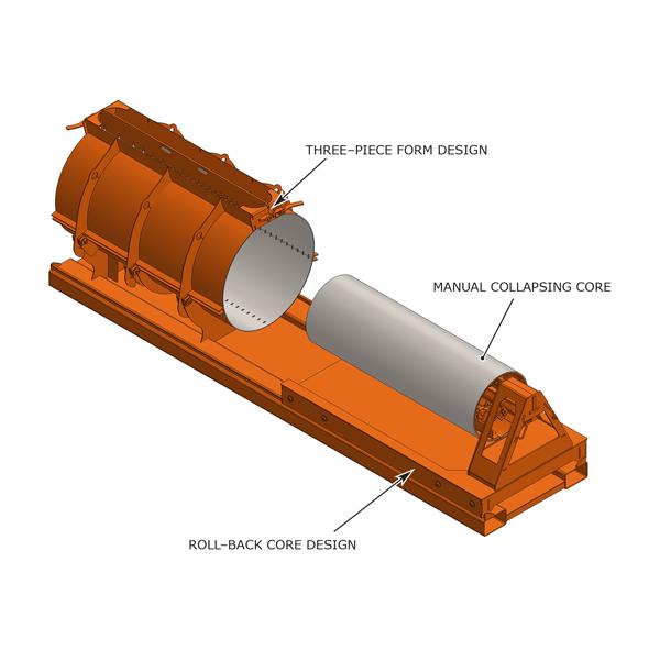 Rollback battery grade ring form