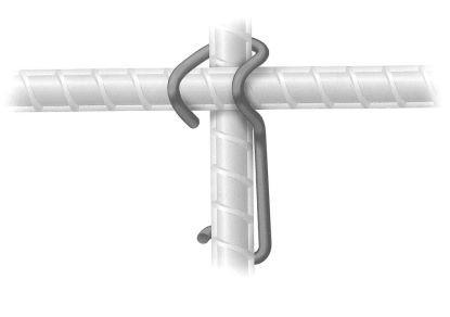 HawkeyePedershaab Snap-lok rebar fastener