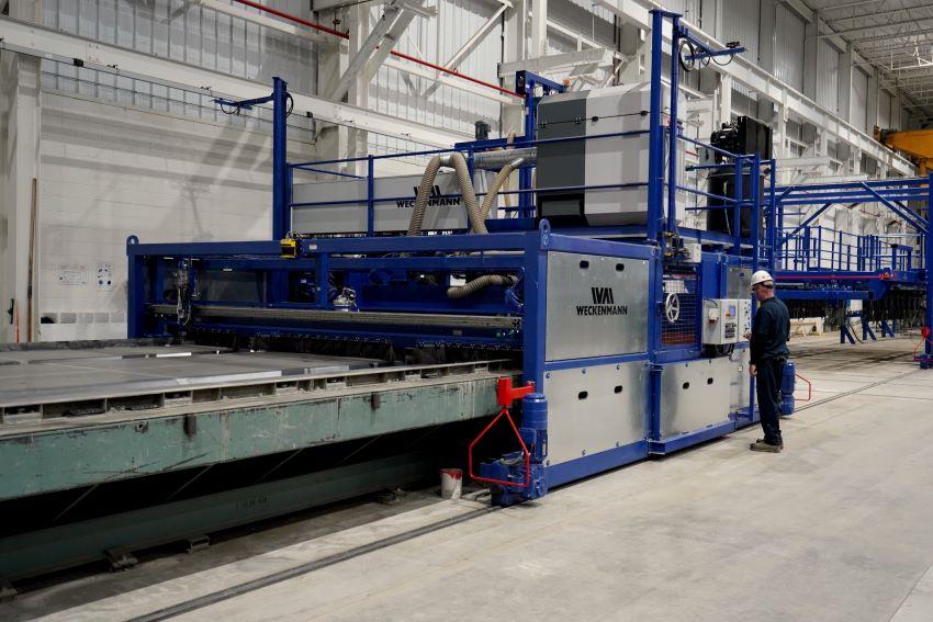 Weckenmann CPO machine