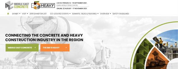 Big 5 Heavy Middle East Concrete Show