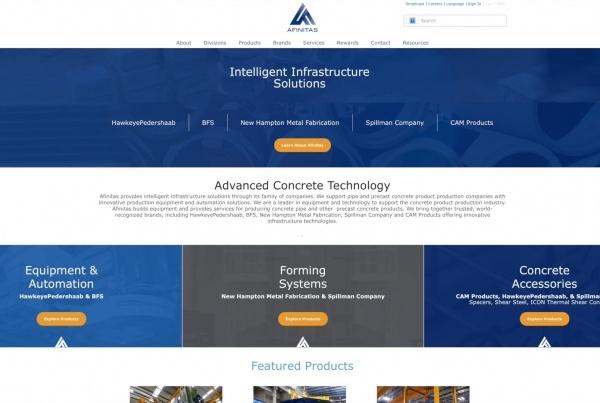 New afinitas.com website