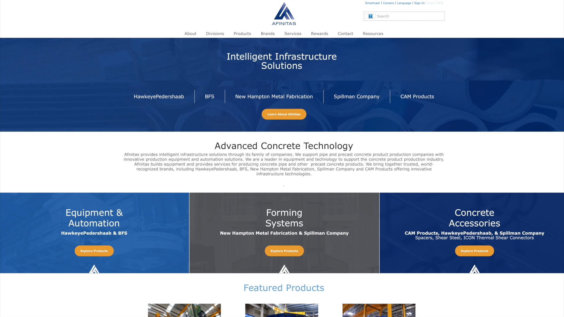Afinitas Aligns into Three Business Units and Launches New Website
