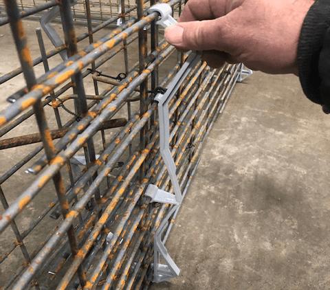 pallet spacer installation